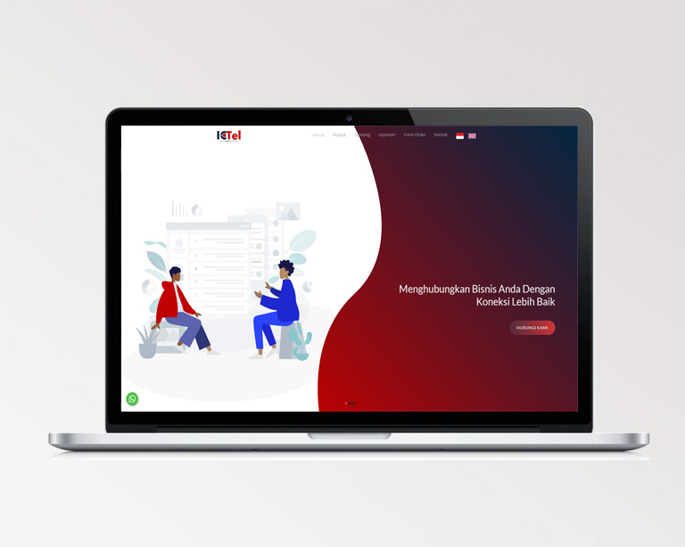 Jasa pembuatan website bekasi